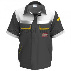 Tự thiết kế áo bảo hộ lao động mẫu 2 Vinfast